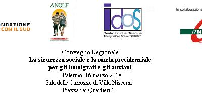 Palermo, 16 marzo 2018. Convegno regionale Long Life Welfare: il Volontariato a supporto della tutela e dell'autotutela