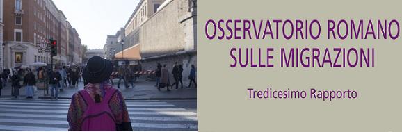 Roma, 7 giugno 2018. Presentazione dell'Osservatorio Romano sulle Migrazioni – Tredicesimo Rapporto
