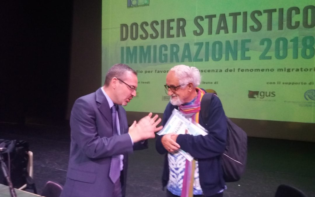 """CS post presentazione """"Dossier Statistico Immigrazione 2018"""""""