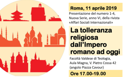 Religious tolerance from the Roman Empire to the present