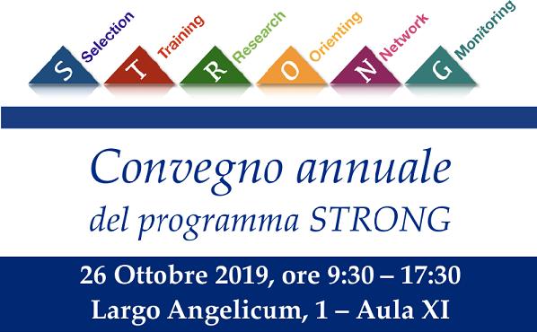 Convegno annuale programma STRONG