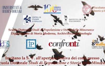 """Presentazione """"L'Europa dei talenti"""" e """"Dossier Statistico Immigrazione 2019"""""""