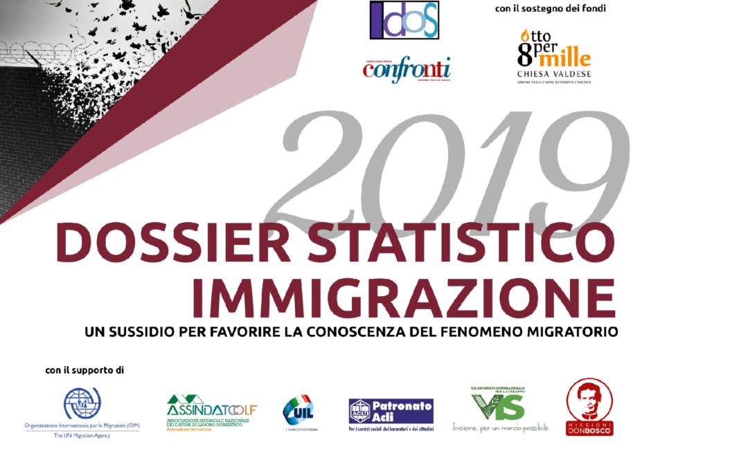 Dossier Statistico Immigrazione 2019. Infografiche