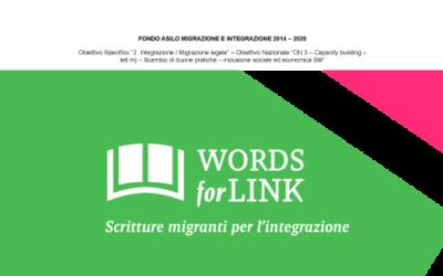 Words4link: parte l'azione di promozione della scrittura migrante