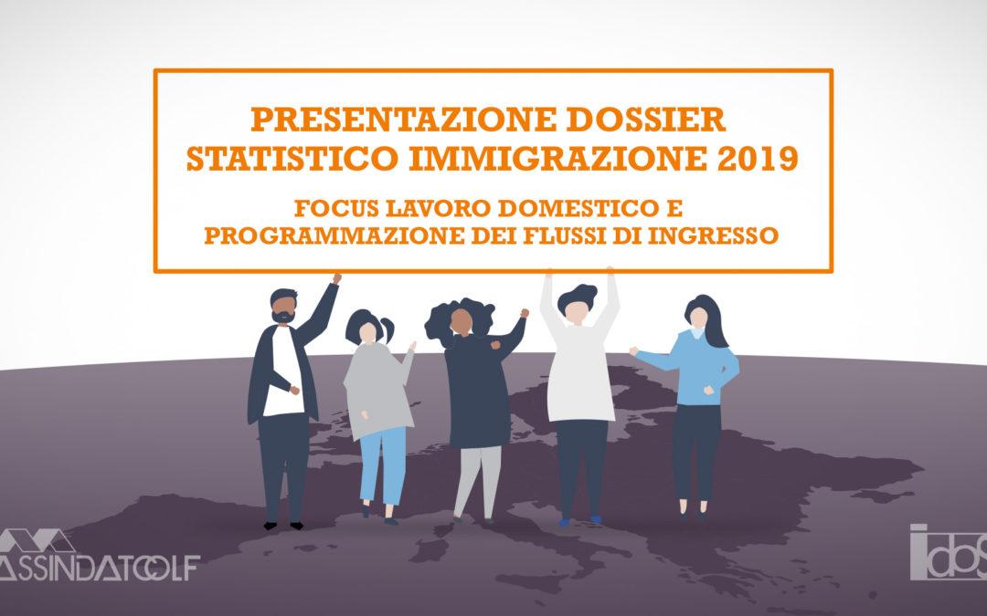 Milano, 11 novembre 2019. Focus lavoro domestico