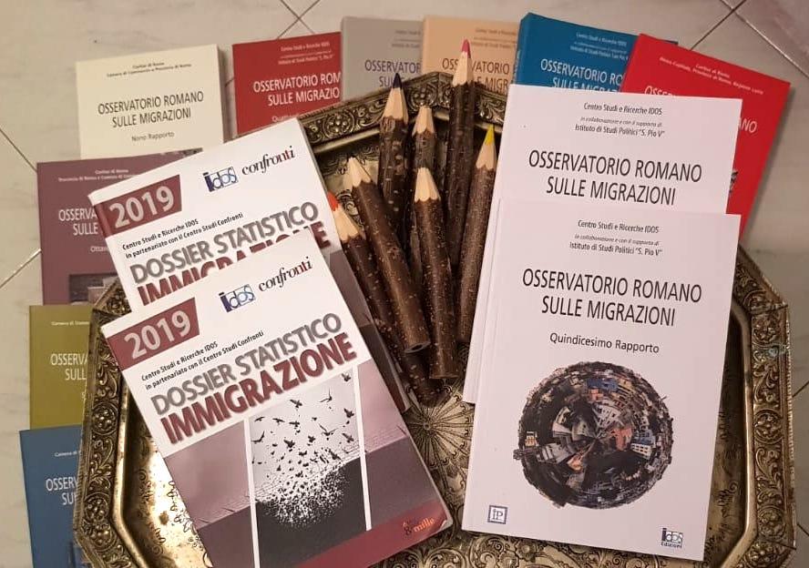 DISTRIBUZIONE GRATUITA DEL XV RAPPORTO DELL'OSSERVATORIO ROMANO SULLE MIGRAZIONI